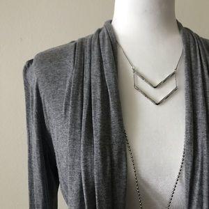 Mossimo Supply Co. Sweaters - Grey cardigan